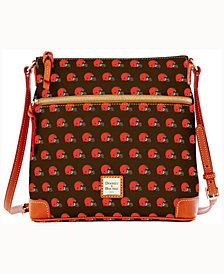 Dooney & Bourke Cleveland Browns Crossbody Purse