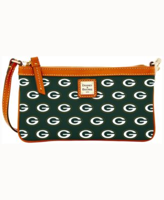 Green Bay Packers Large Slim Wristlet