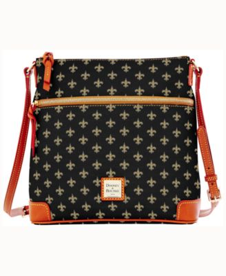 dooney bourke new orleans saints crossbody purse sports fan shop rh macys com