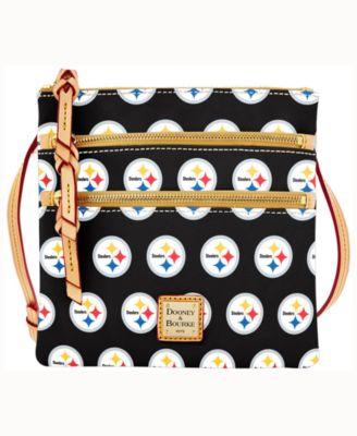 Pittsburgh Steelers Triple-Zip Crossbody Bag