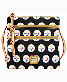 Dooney & Bourke Pittsburgh Steelers Triple-Zip Crossbody Bag