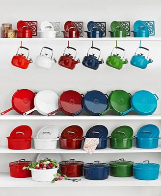 Martha Stewart Collection Collectors Enameled Cast Iron, Created for Macy's