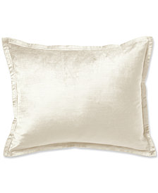 "Donna Karan Rhythm Ivory 16"" x 20"" Decorative Pillow"