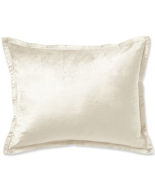 "Donna Karan Rhythm Ivory 16"" x 20"" Decorative Pillow"