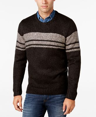 Tricots St Raphael Men's Striped Crew-Neck Sweater