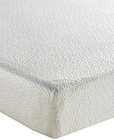 "Sleep Trends Ladan 8"" Cool Gel Memory Foam Firm Mattress, Quick Ship, Mattress in a Box- Queen"