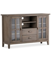 Tv Stands And Entertainment Centers Macy S