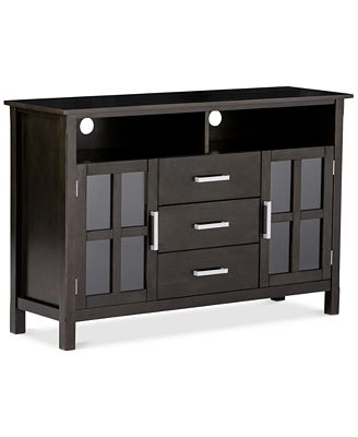 Rockville High Tv Stand Quick Ship Furniture Macy S