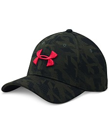 Under Armour Men's Printed HeatGear Logo Cap