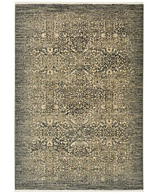 """Karastan Titanium Andeols Slate 3'6"""" x 5'6"""" Area Rug"""