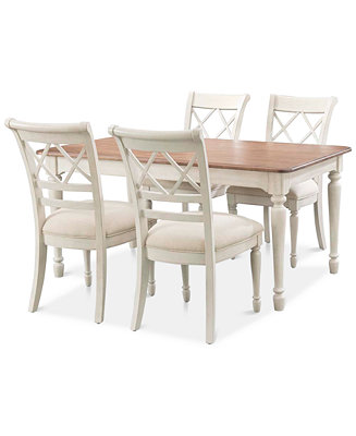 Cape May Dining Set 5 Pc Table 4 Side Chairs Only At Macy 39 S