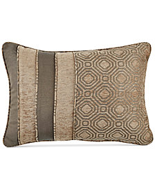 "CLOSEOUT! Croscill Benson 19"" x 13"" Boudoir Decorative Pillow"