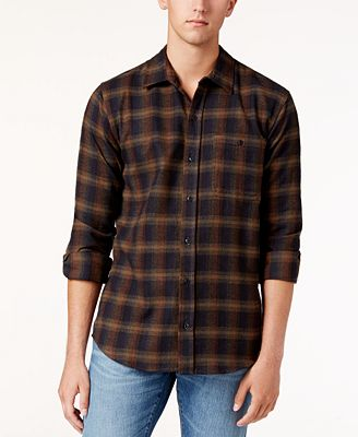 Ezekiel Men's Fiddle Plaid Shirt