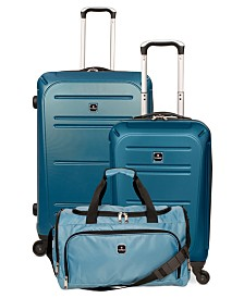 Tag Vector II 3-Piece Hardside Luggage Set, Created for Macy's