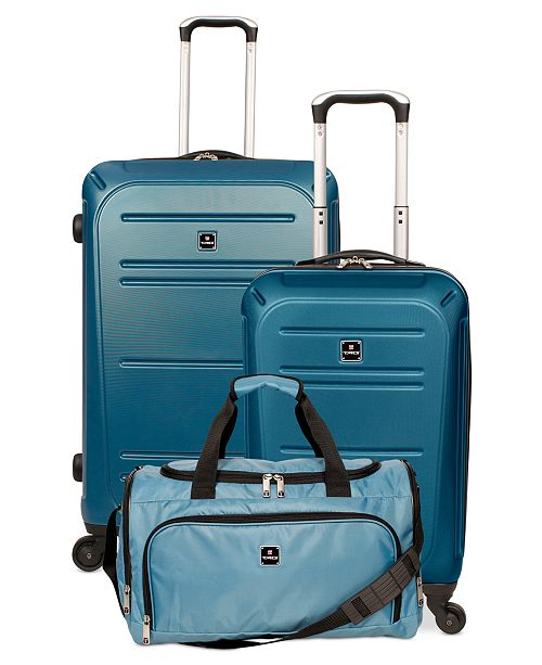 66e4ec6c6ff7 Vector II 3-Piece Hardside Luggage Set, Created for Macy's