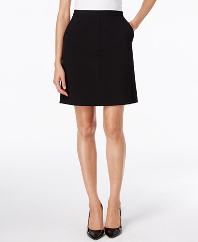 Anne Klein Pocketed Pencil Skirt, Created for Macy's