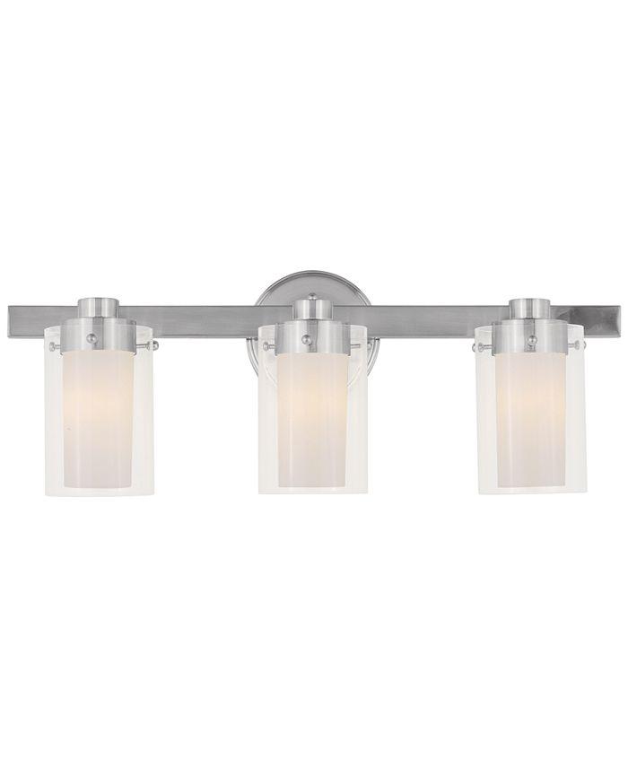 Livex - Manhattan 3-Light Wall Light