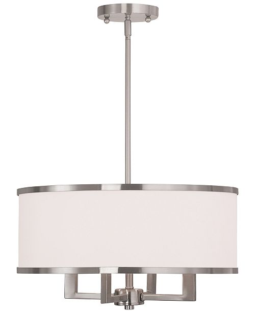 Livex Park Ridge 4-Light Chandelier
