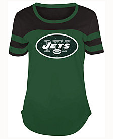 5th & Ocean Women's New York Jets Limited Edition Rhinestone T-Shirt