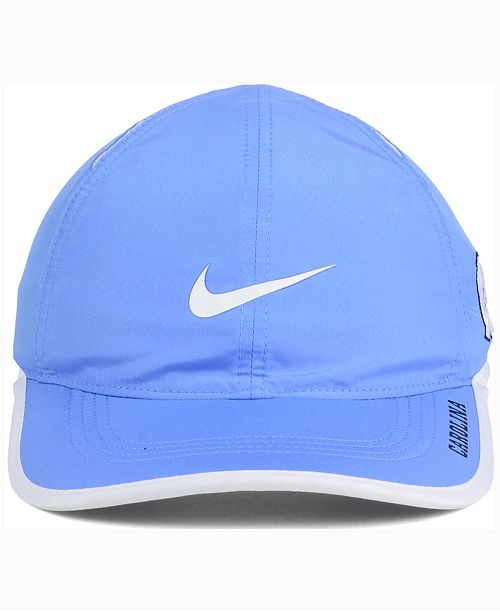 0d53706f500 ... coupon for nike north carolina tar heels featherlight cap sports fan  shop by lids men macys