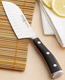 "Classic Ikon Santoku Knife, 5"" Hollow Edge"