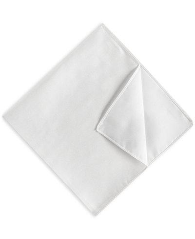 BOSS Men's Solid Silk Pocket Square