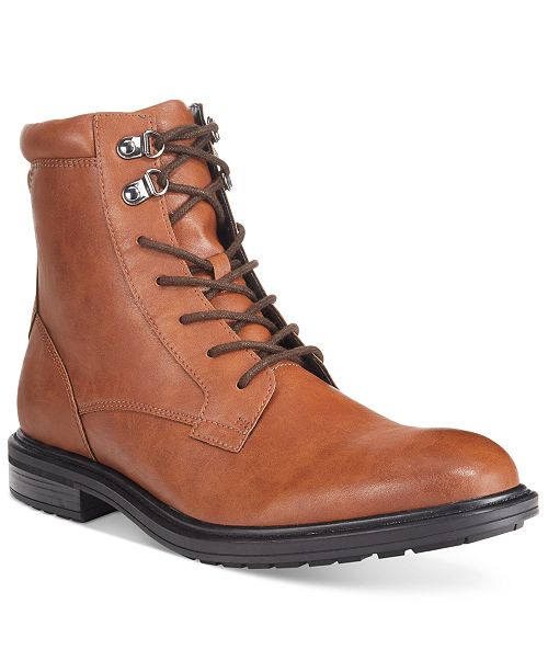 Alfani Men's Mel Plain-Toe Boots, Created for Macy's