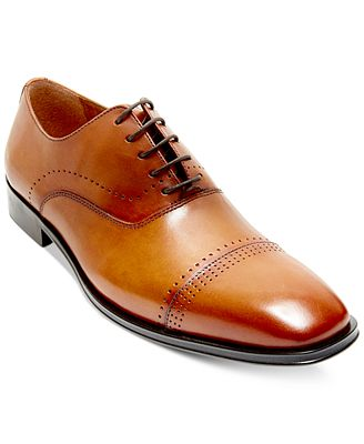 Steve Madden Men's Duron Cap-Toe Dress Oxfords