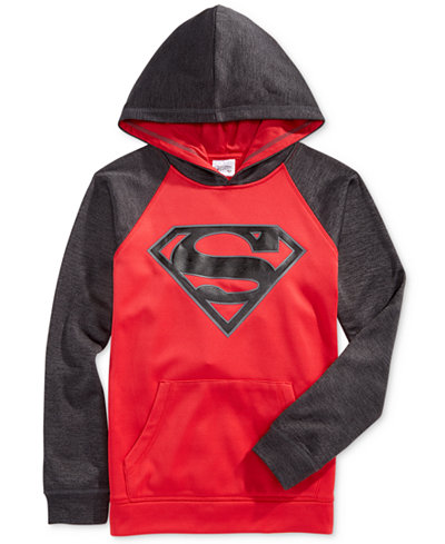DC Comics Boys' Superman Spacedye Hoodie