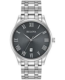 Men's Stainless Steel Bracelet Watch 40mm 96B261