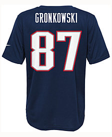 Nike Rob Gronkowsi New England Patriots Pride Player T-Shirt, Big Boys (8-20)