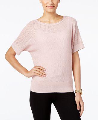 MICHAEL Michael Kors Dolman-Sleeve Sweater