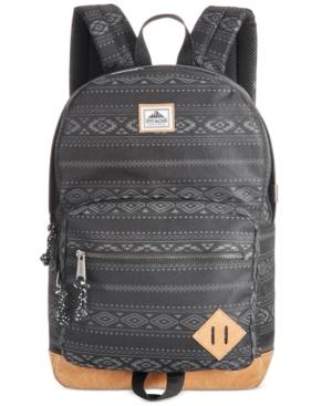 Steve Madden Men's Printed Nylon Backpack