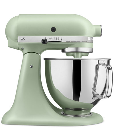 KitchenAid KSM150APS Architect 5 Qt. Stand Mixer, Created for ...