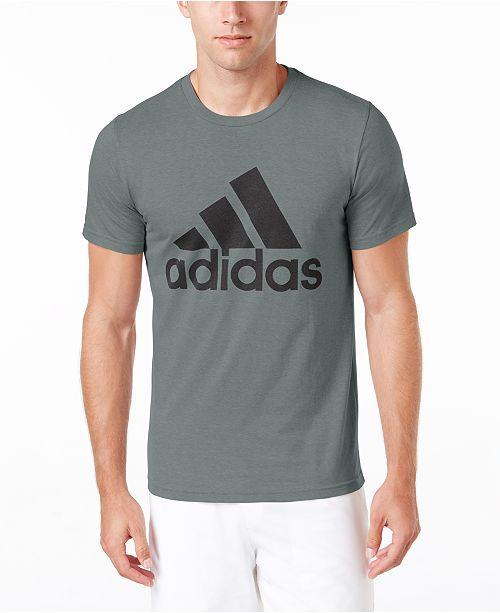 97c6be6f3 adidas Men s Badge of Sport Classic Logo T-Shirt   Reviews - T ...