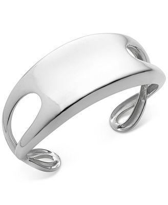 Nambé Infinity Cuff Bracelet in Sterling Silver, Only at Macy's