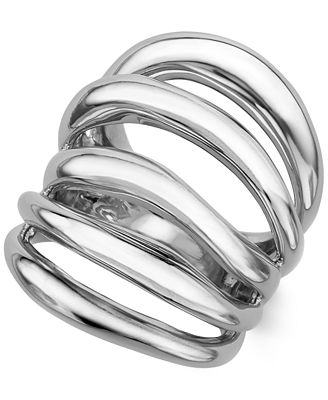 Nambé Multi-Band Ring in Sterling Silver, Only at Macy's