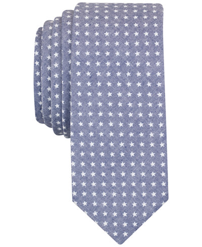 Original Penguin Men's Marshall Star Print Slim Tie