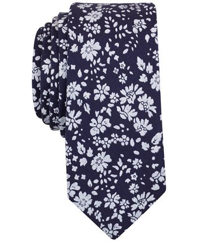 Original Penguin Men's Pitchel Floral Slim Tie