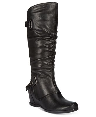 bare traps quivina wedge boots boots shoes macy s