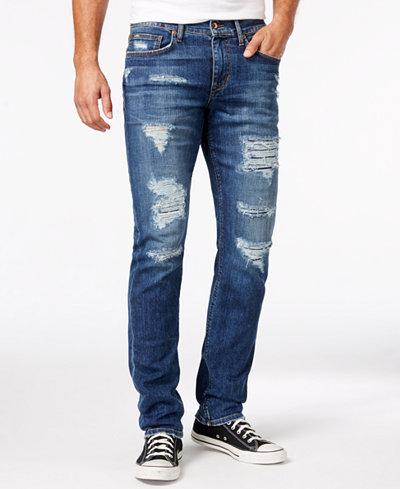 Joe's Jeans Men's Alton Slim-Fit Destroyed Jeans - Jeans - Men ...