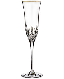 Waterford Stemware, Lismore Essence Gold Flute