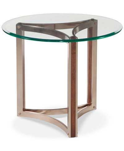 Cornell Round End Table, Quick Ship