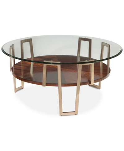 Cornell Round Cocktail Table, Quick Ship