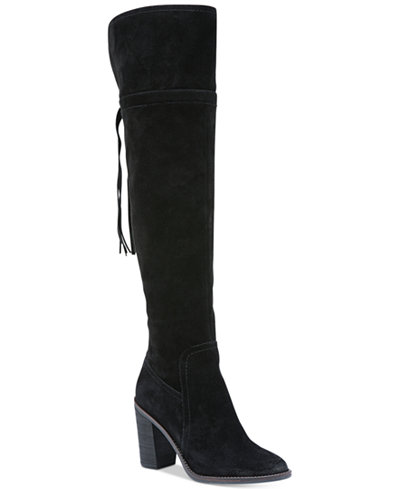 Franco Sarto Eckhart Over The Knee Boots Boots Shoes