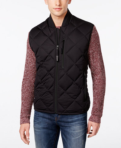 Andrew Marc Men's Systems Quilted Vest