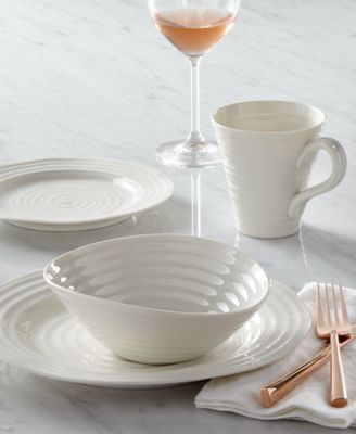 From celebrated chef and writer Sophie Conran this versatile white dinnerware and dishes set moves from oven to table with the utmost ease ... & Portmeirion Dinnerware Sophie Conran White Collection - Dinnerware ...