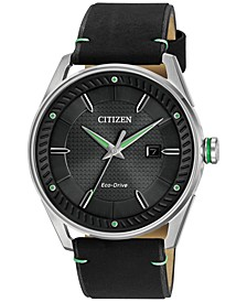 Drive from Citizen Eco-Drive Men's Black Leather Strap Watch 42mm BM6980-08E