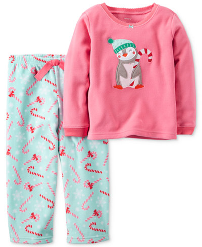 Carter's 2-Pc. Peppermint Penguin Pajama Set, Little Girls (2-6X) & Big Girls (7-16)