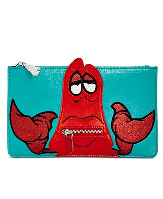 Disney By Danielle Nicole Little Mermaid Sebastian Pouch